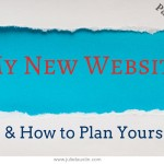 My new website and how to plan for your therapist or natural health website