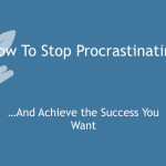 How to Stop Procrastinating [Video] thumbnail