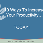 10 Ways to Increase your Productivity