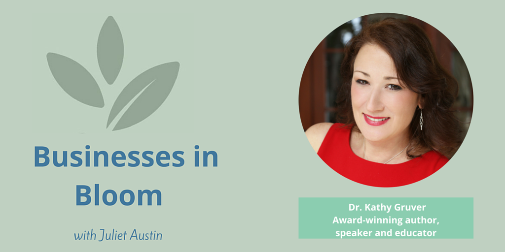 Interview with Award Winning Author, Speaker, & Alternative Health Practitioner, Kathy Gruver
