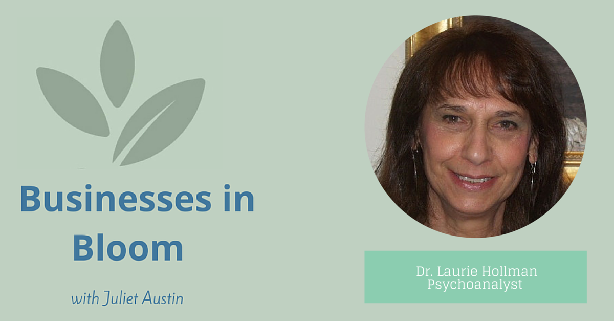 Interview with Psychoanalyst, Laurie Hollman