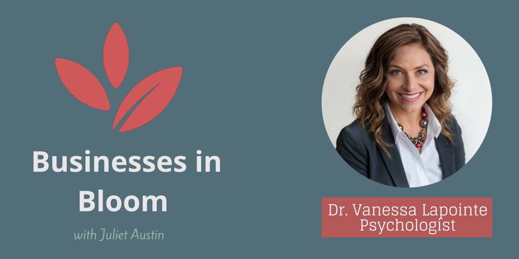 Interview with Psychologist, Dr. Vanessa Lapointe