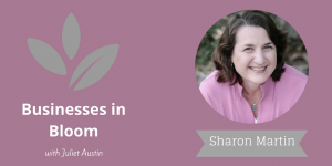 Blogging as a Way of Generating Content for Ebooks – with Social Worker, Sharon Martin – Episode 68 thumbnail